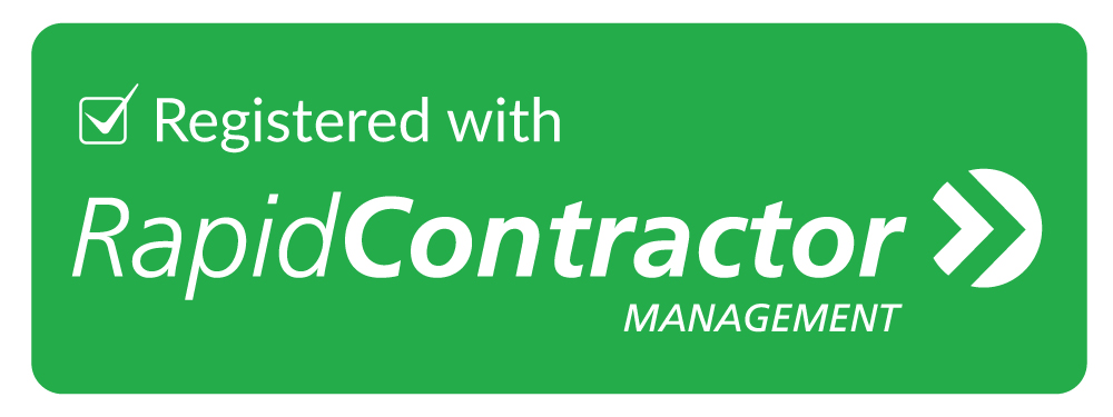 Registered with RapidContractor Management